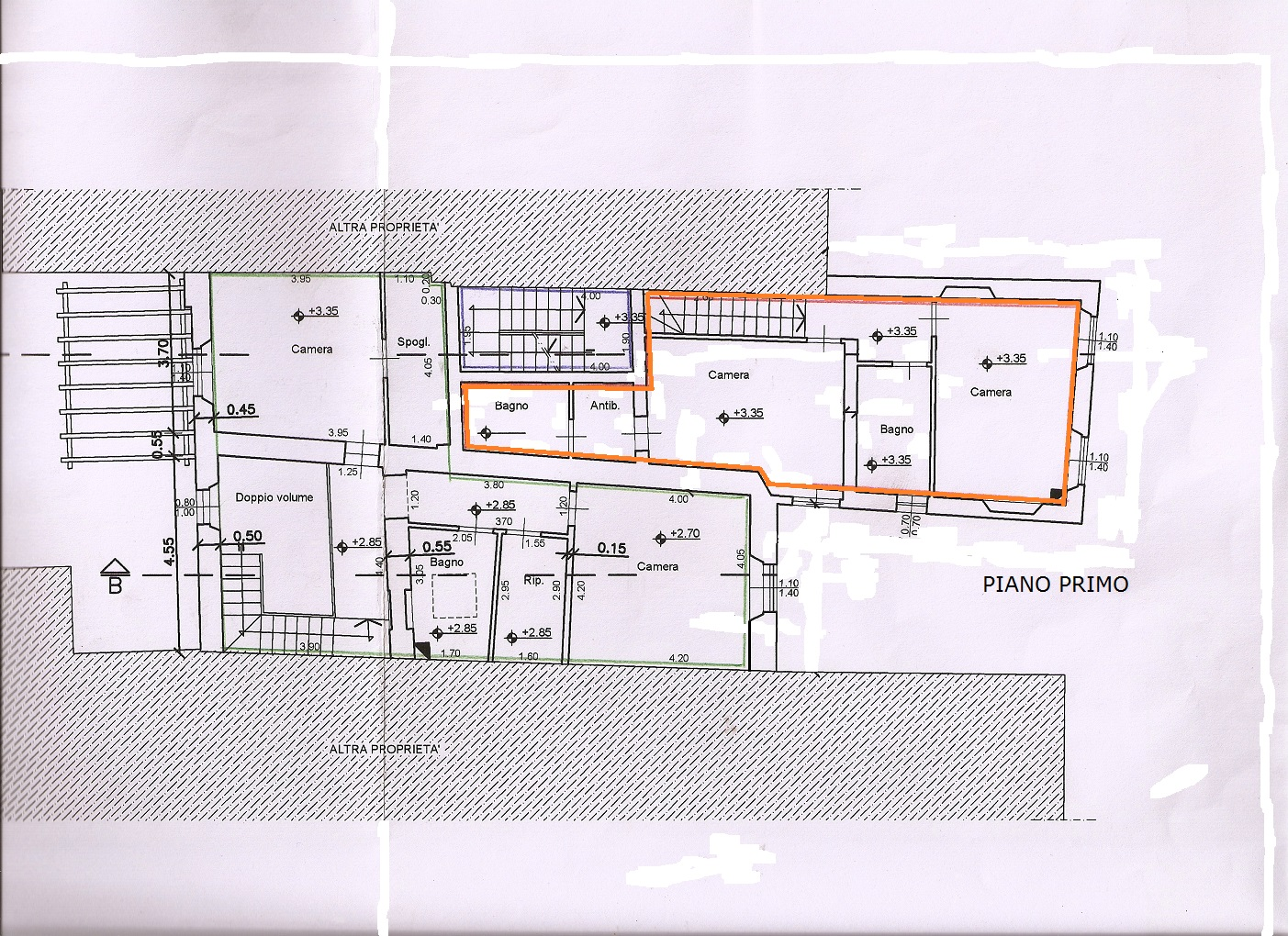 Planimetria 2/2 per rif. V1163