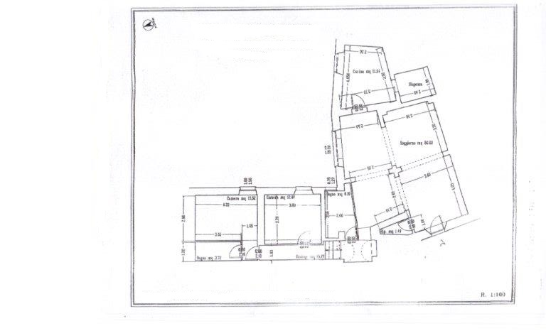 Planimetria 1/1 per rif. V1035