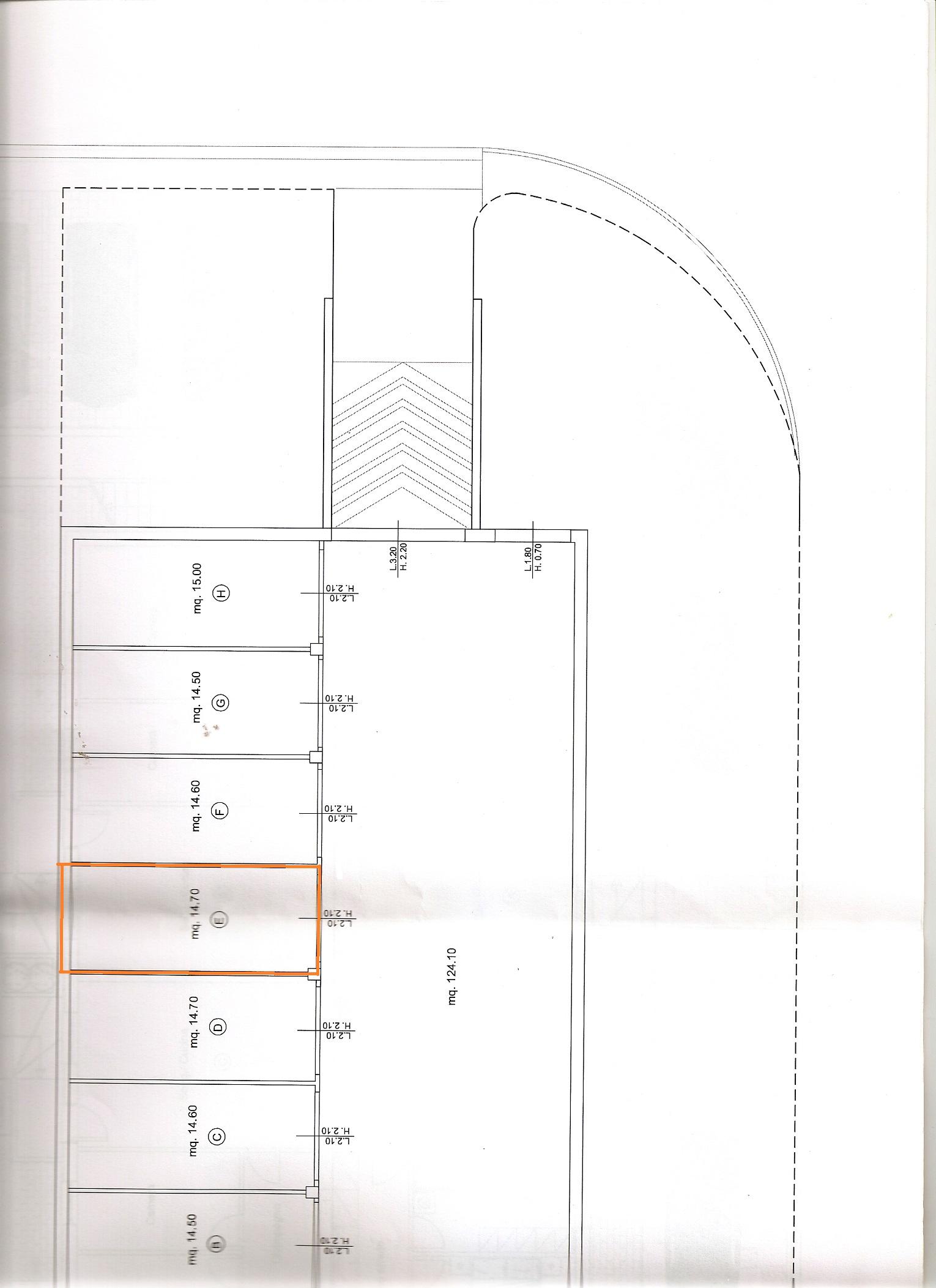 Planimetria 2/2 per rif. V1078