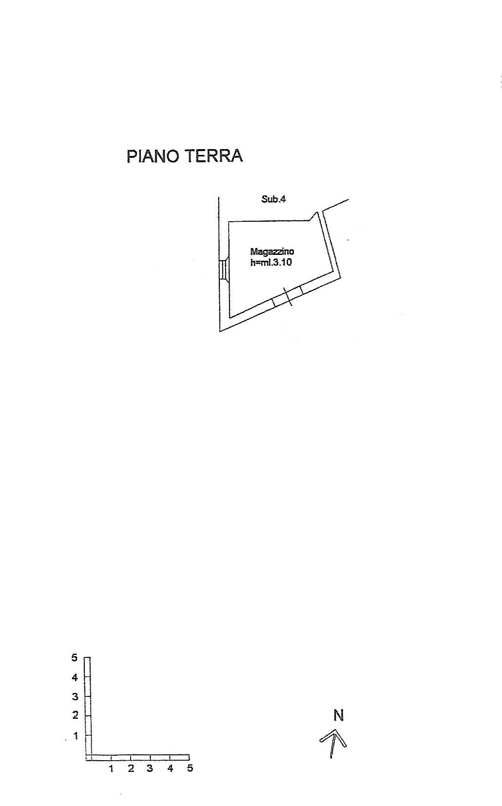 Planimetria 2/2 per rif. V1127