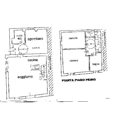 Planimetria 1/1 per rif. V1112