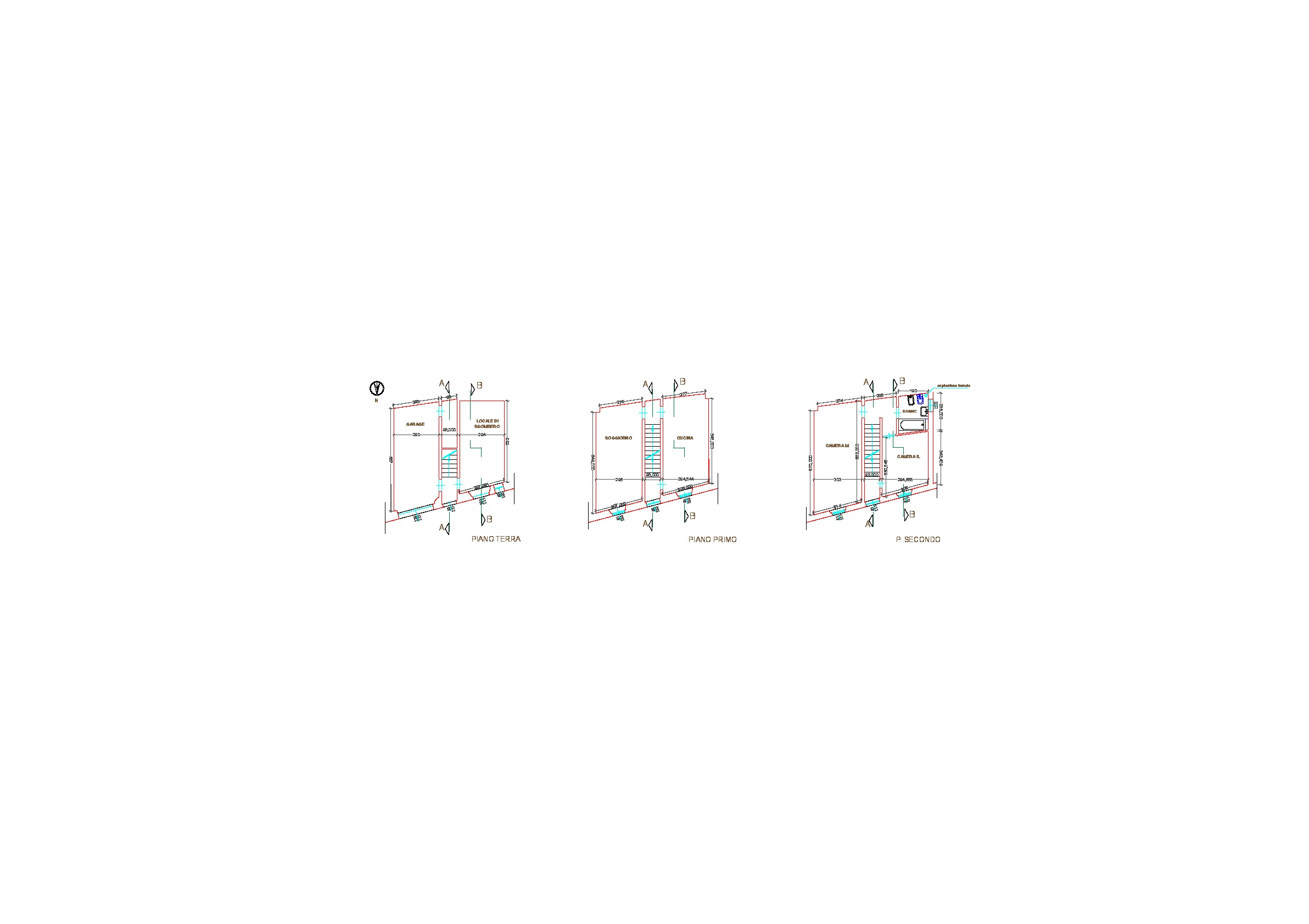 Planimetria 1/1 per rif. V1119
