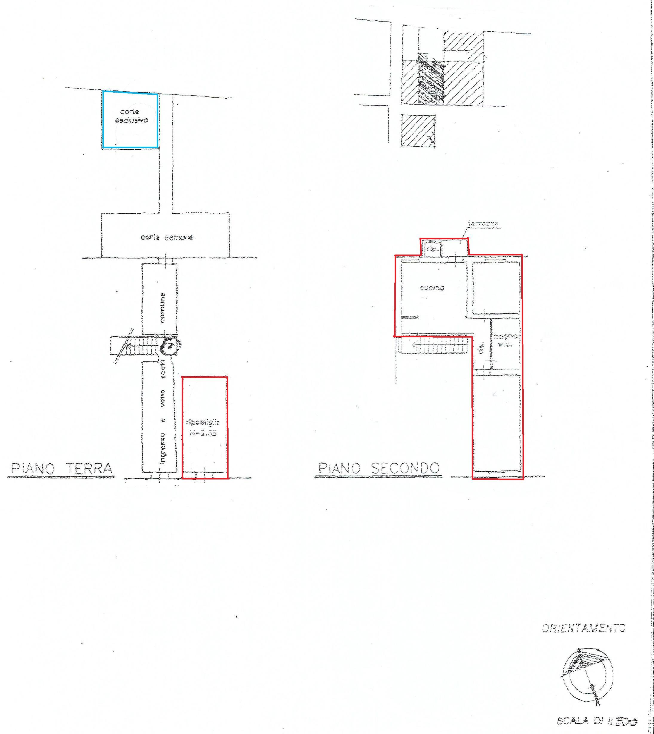 Planimetria 1/1 per rif. V1014