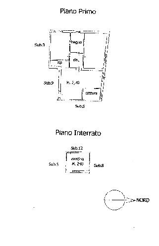 Planimetria 1/1 per rif. L2053