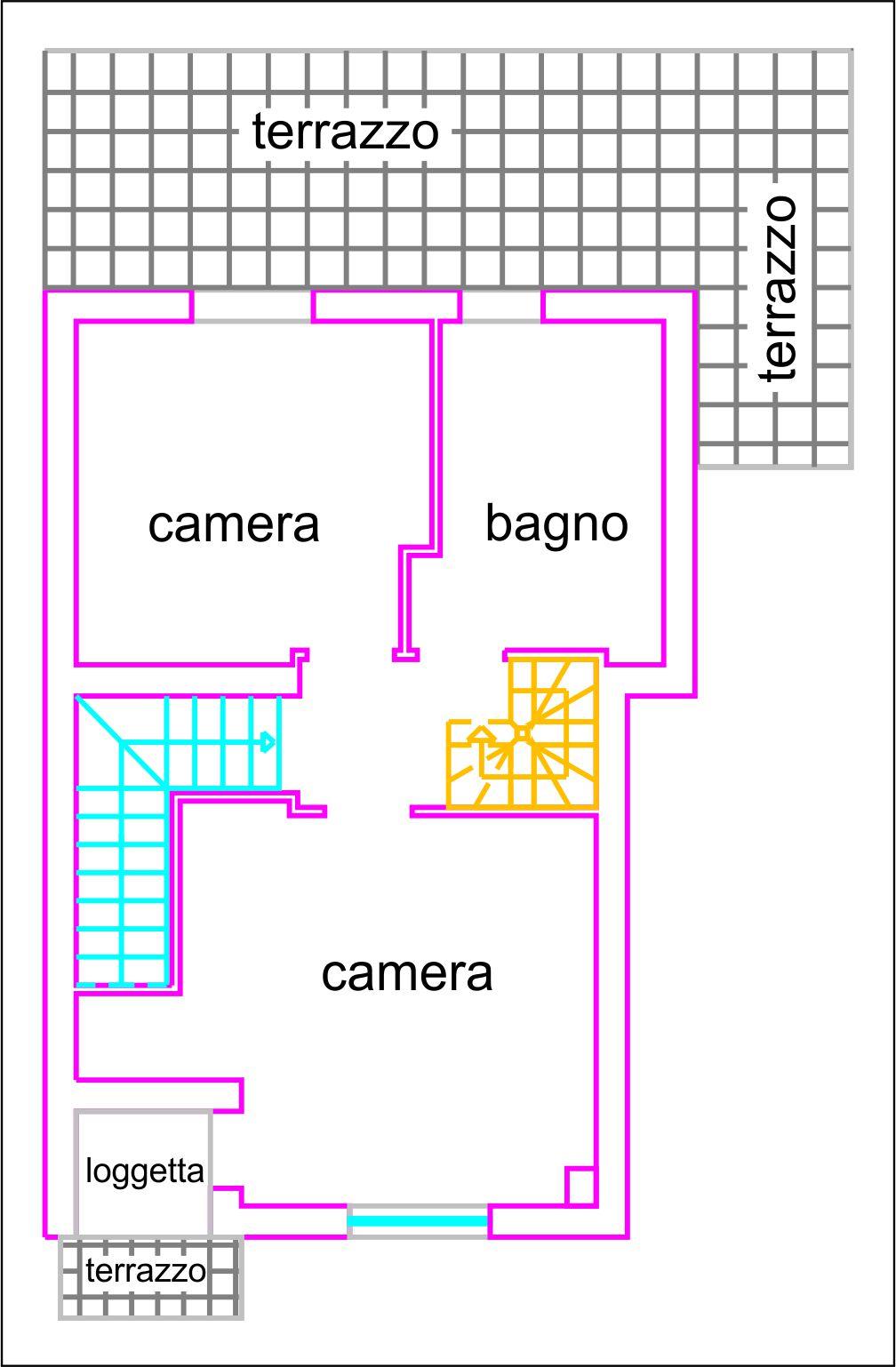 Planimetria 2/3 per rif. V1131