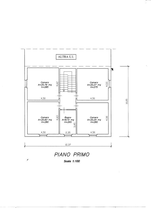Planimetria 2/2 per rif. V1143
