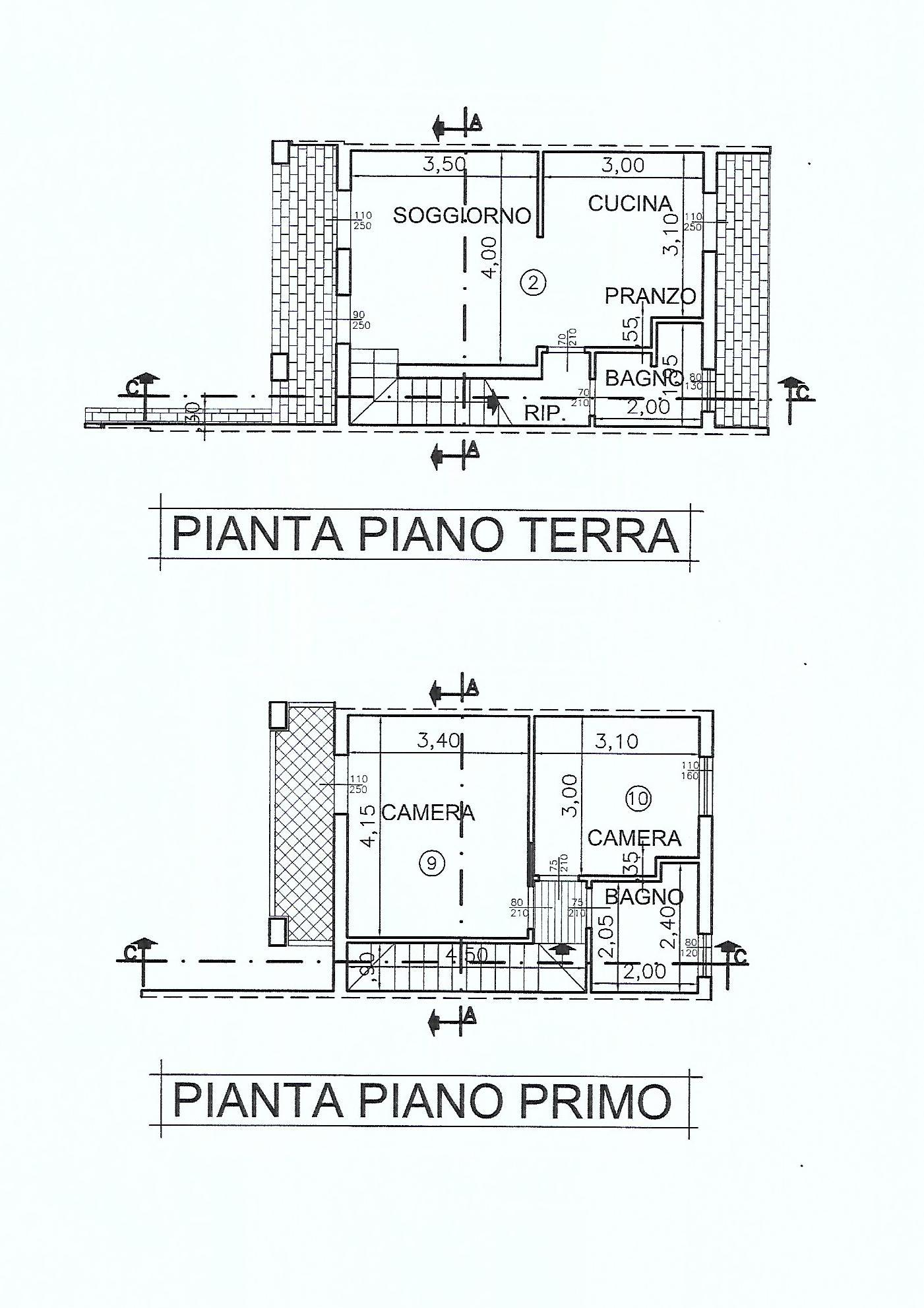 Planimetria 1/1 per rif. V1082