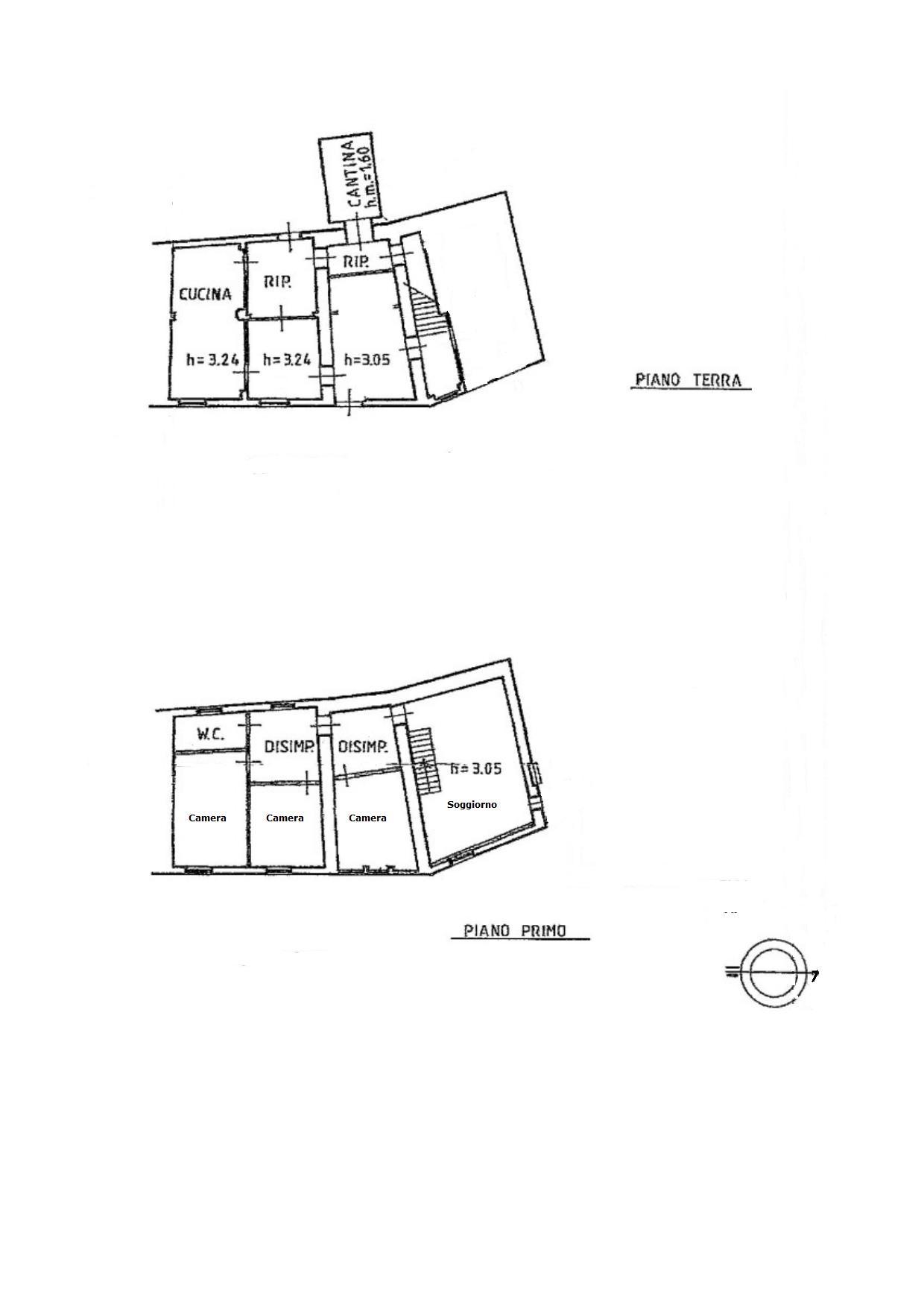 Planimetria 1/1 per rif. V1093