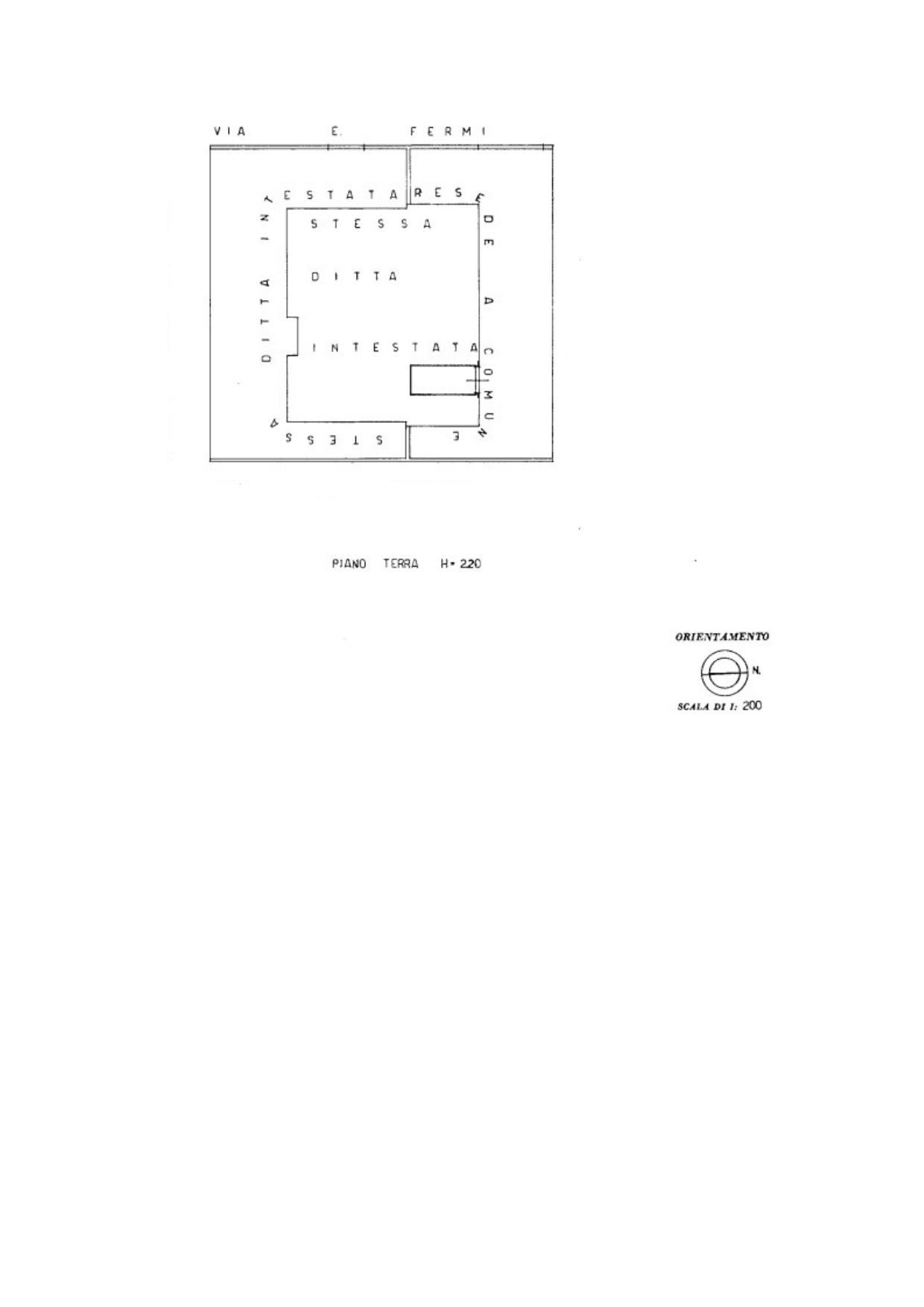Planimetria 2/2 per rif. V1117