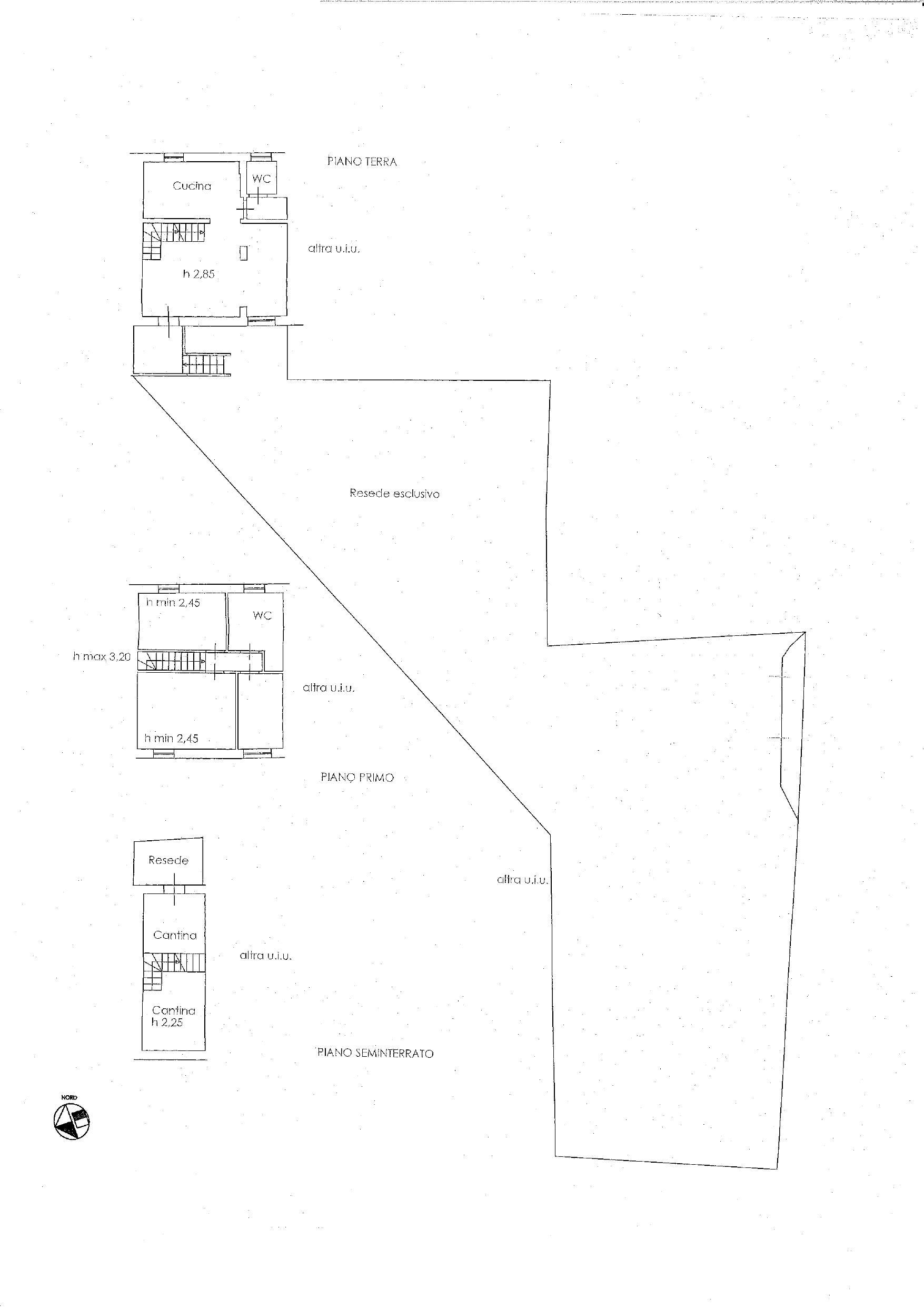Planimetria 1/1 per rif. V1125