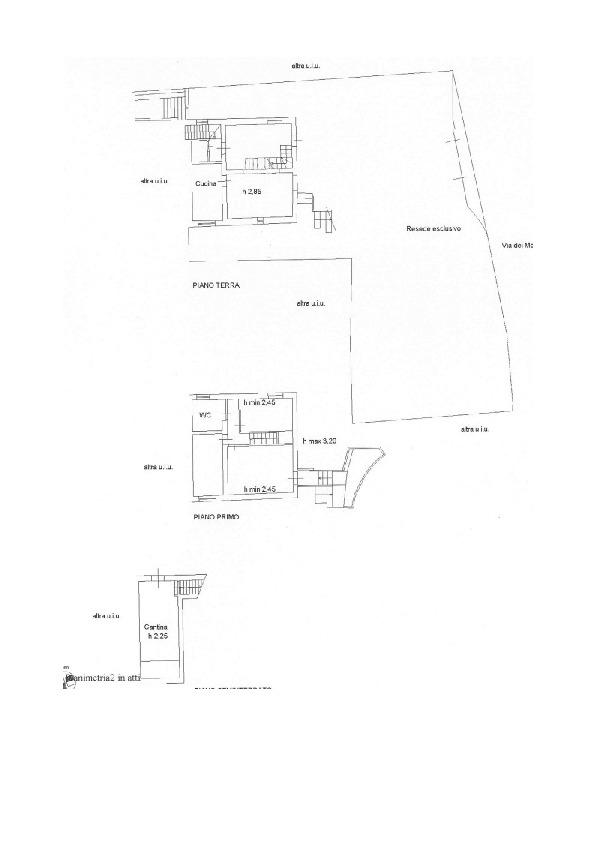 Planimetria 1/1 per rif. V1115