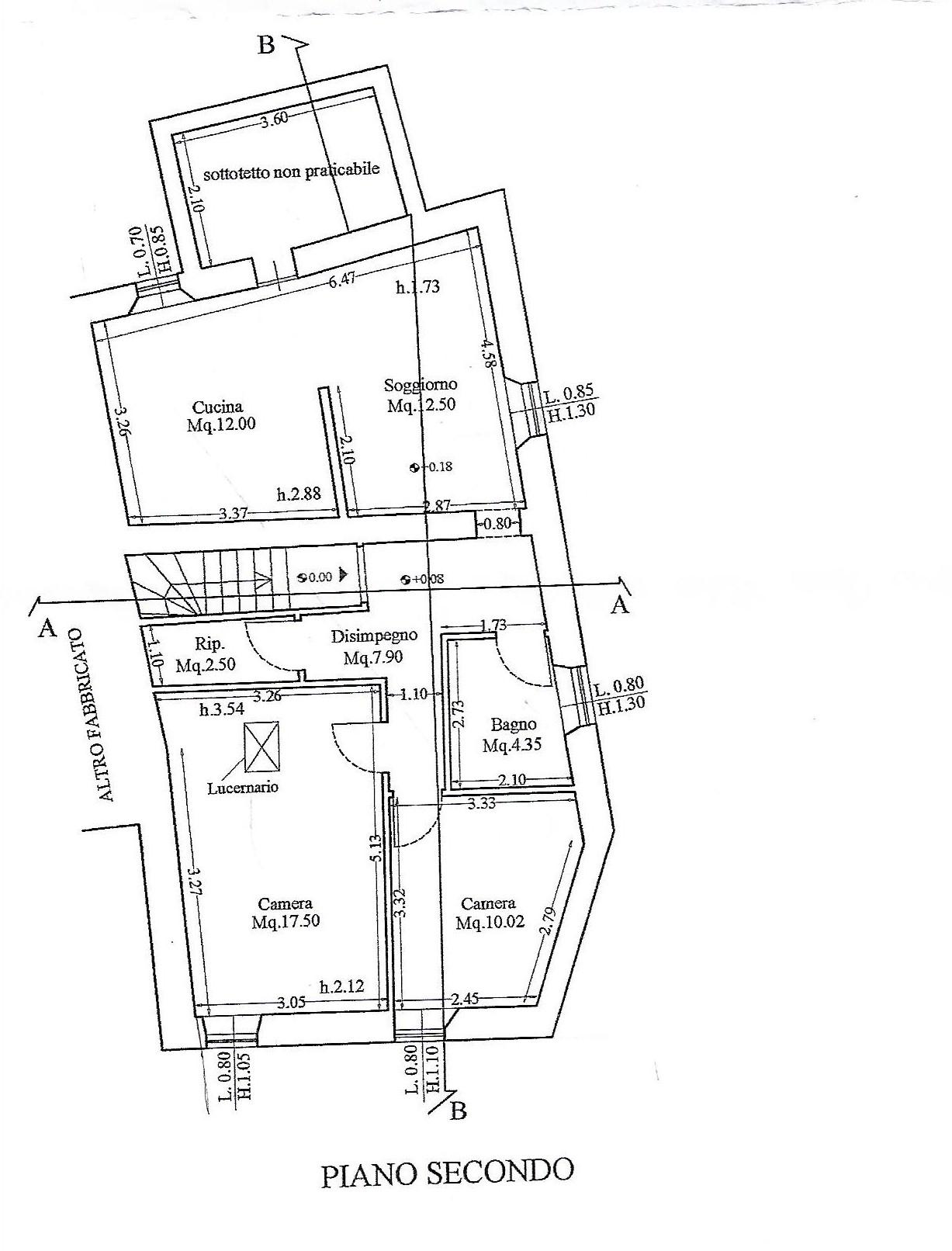 Planimetria 1/1 per rif. V1045
