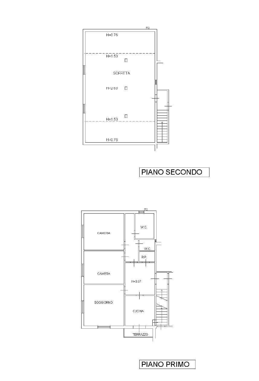 Planimetria 1/1 per rif. L2018