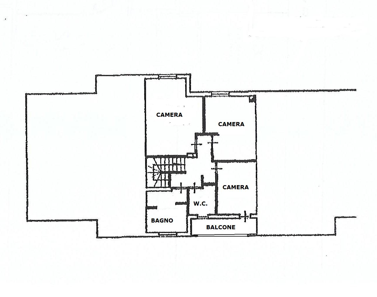 Planimetria 3/3 per rif. V1104