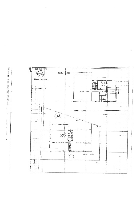 Planimetria 1/1 per rif. II295A