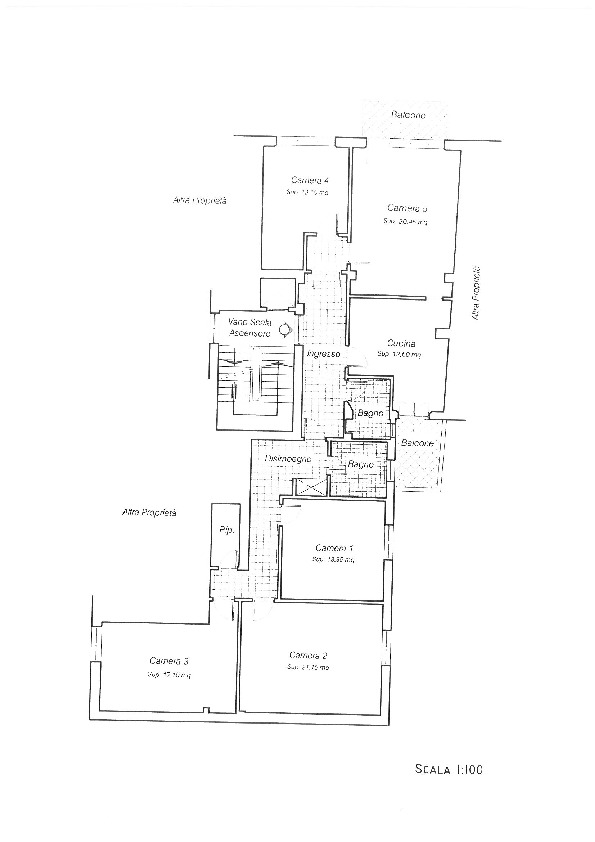 Planimetria 1/1 per rif. II383A