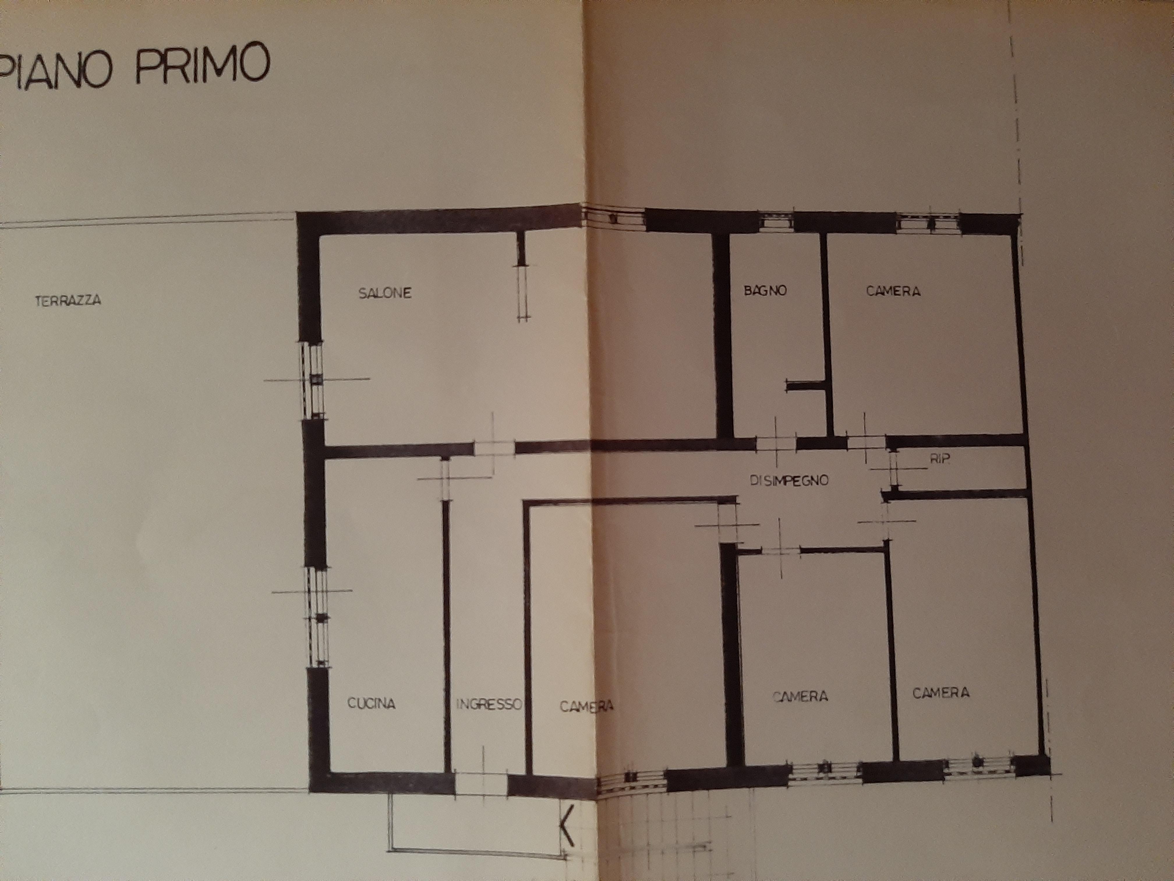 Appartamento in vendita, rif. 718 (Planimetria 1/1)