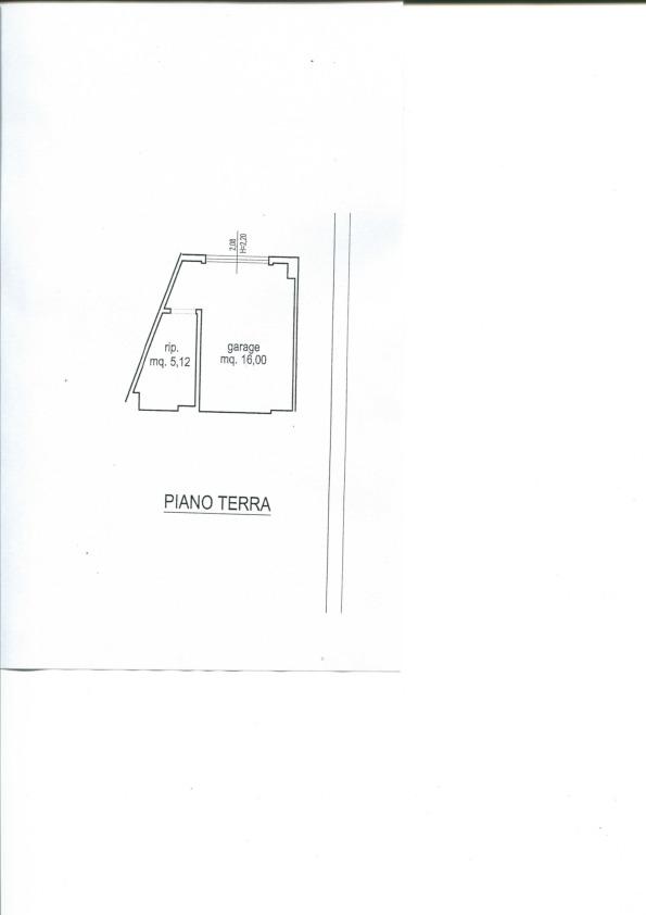 Garage in vendita, rif. 794 (Planimetria 1/1)