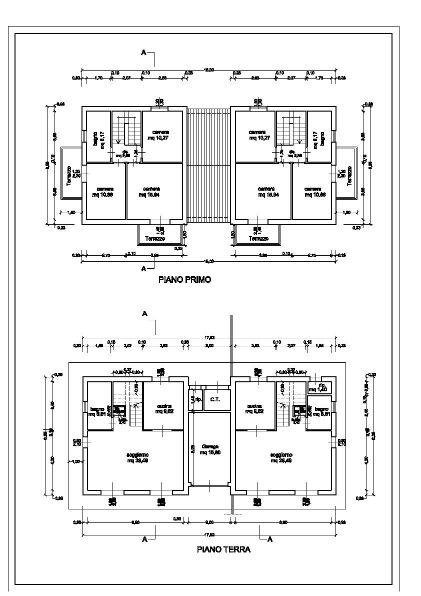 Planimetria 3/3 per rif. 810