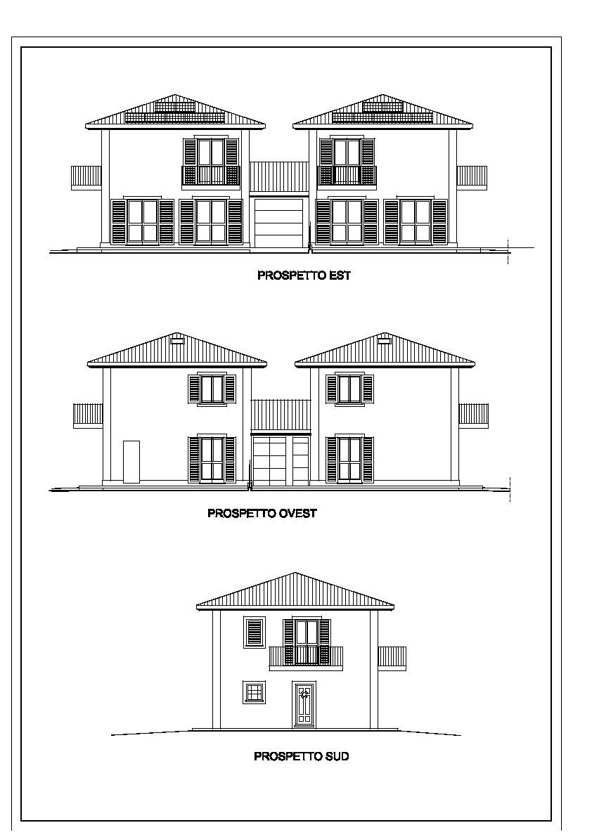 Villetta bifamiliare in vendita, rif. 810 (Planimetria 1/1)