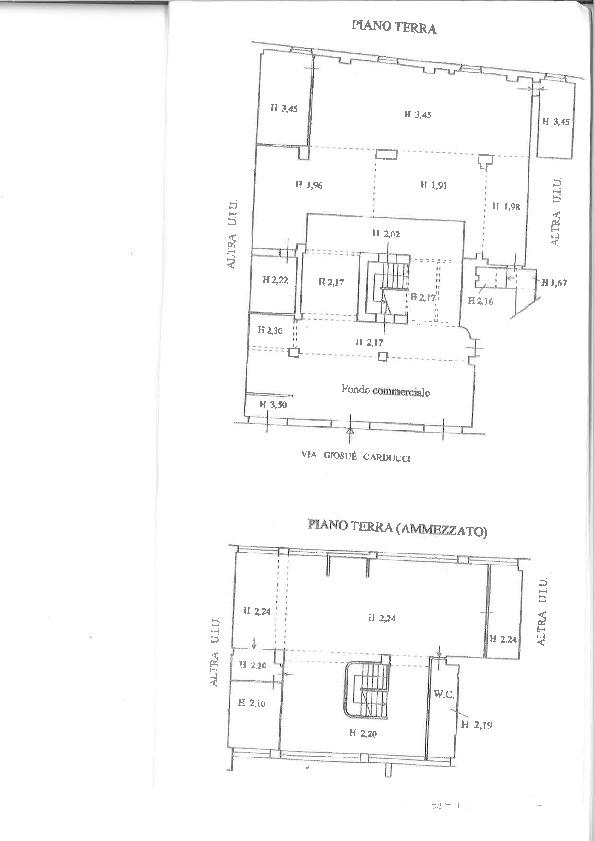 Planimetria 1/1 per rif. PO002