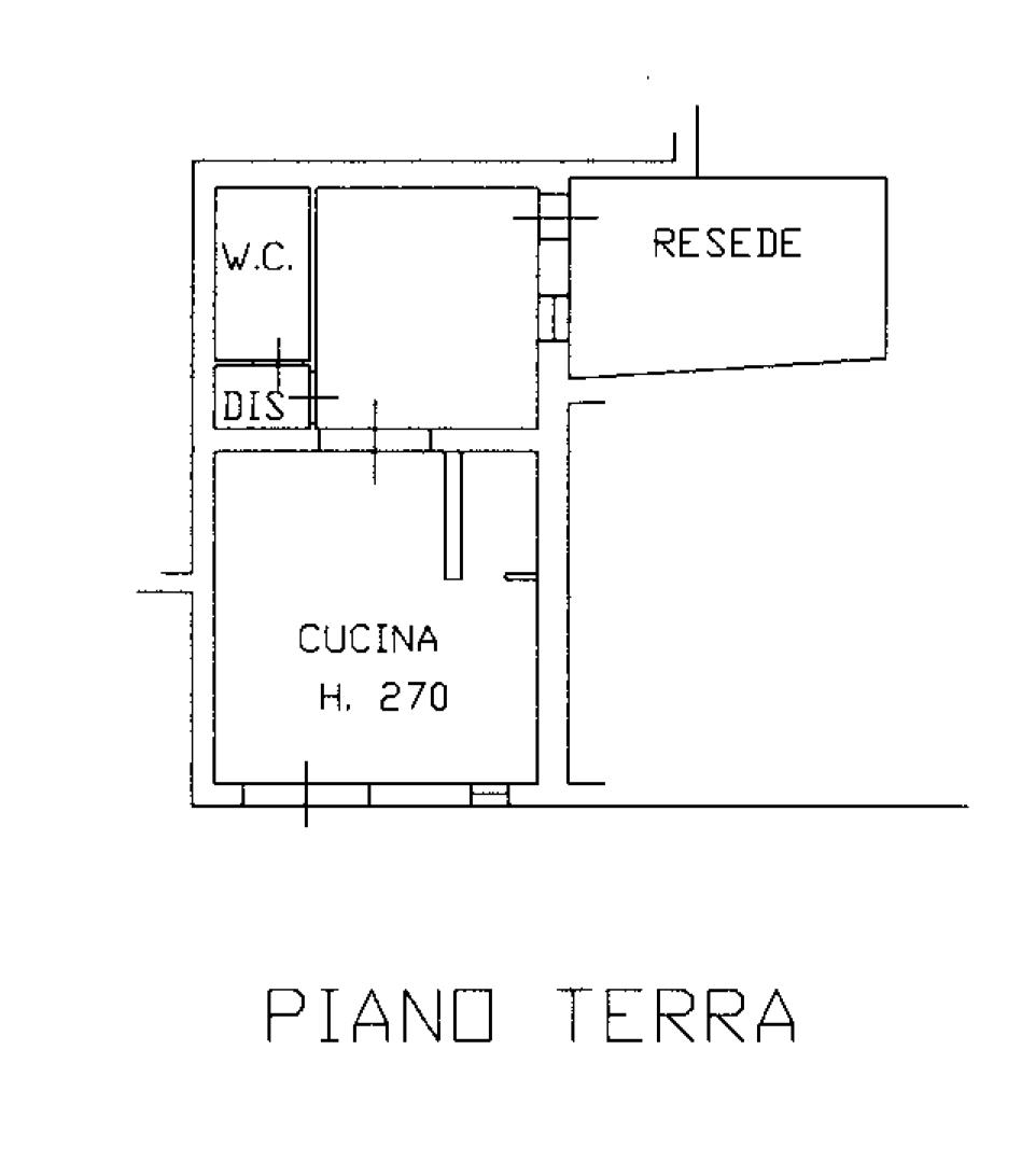 Planimetria 1/2 per rif. CA147