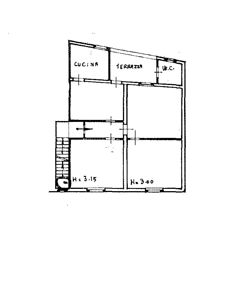 Planimetria 1/2 per rif. CA123