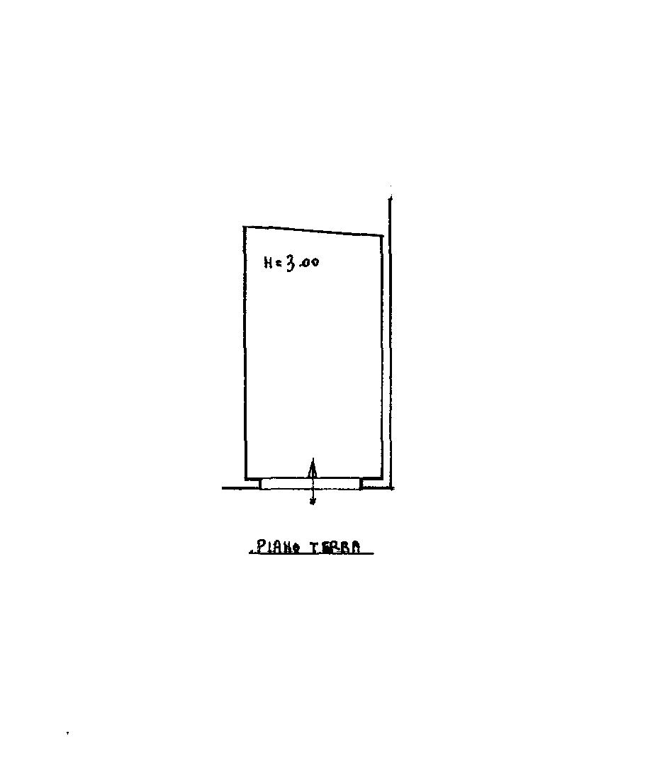 Planimetria 2/2 per rif. CA123