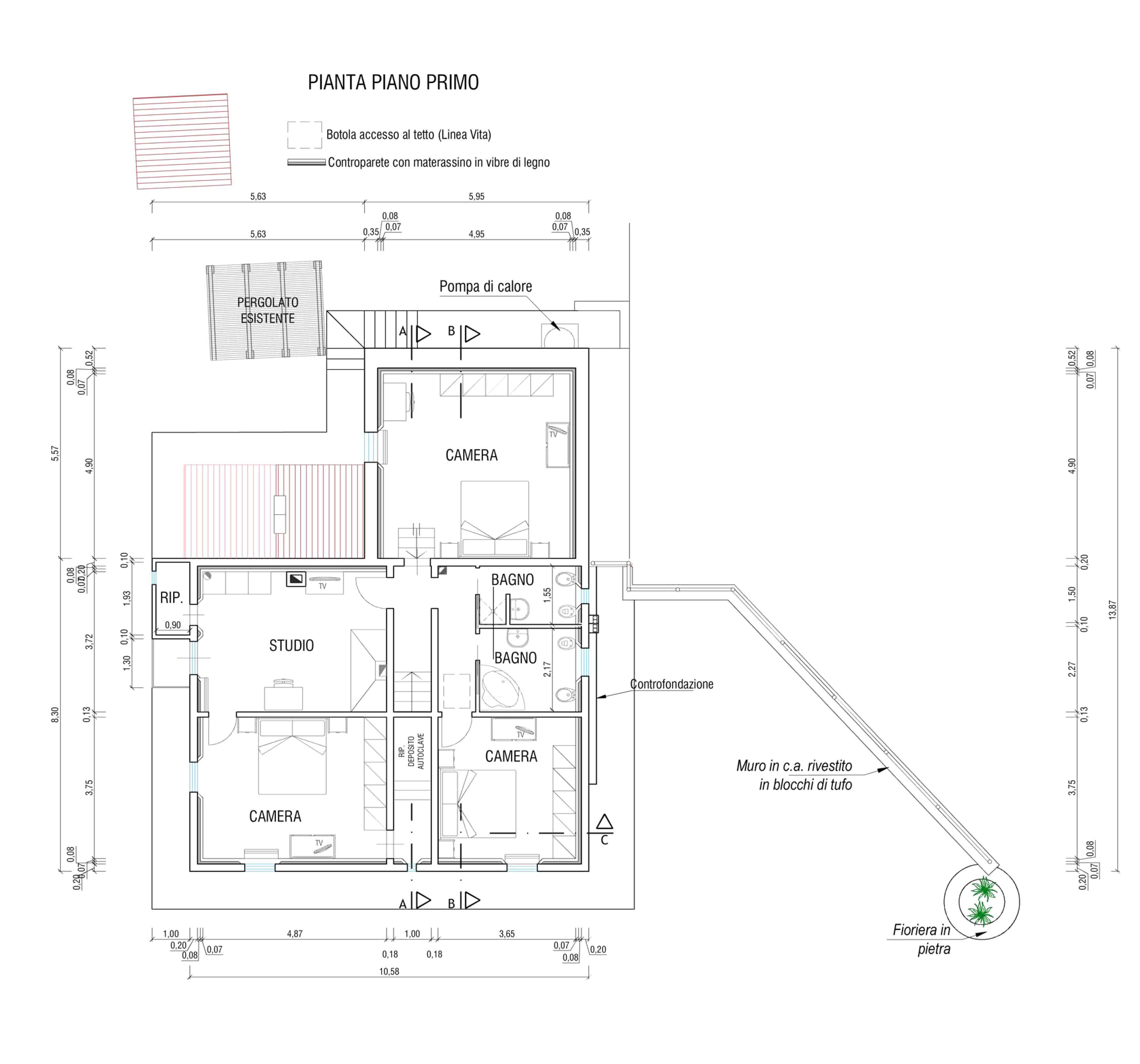 Planimetria 2/2 per rif. CC400
