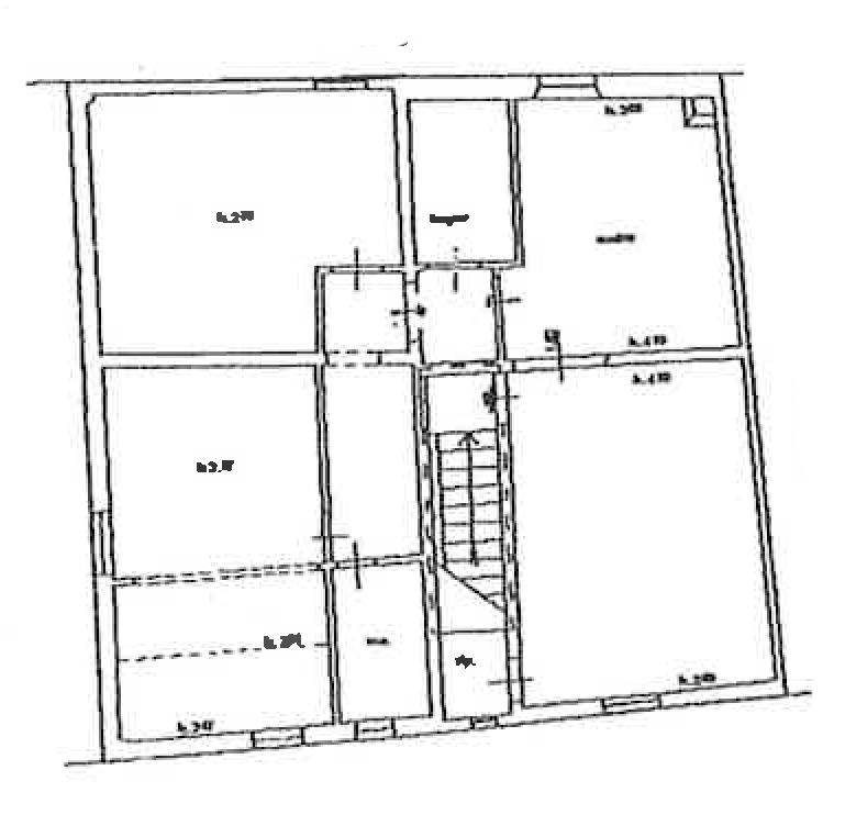 Planimetria 1/1 per rif. FO134