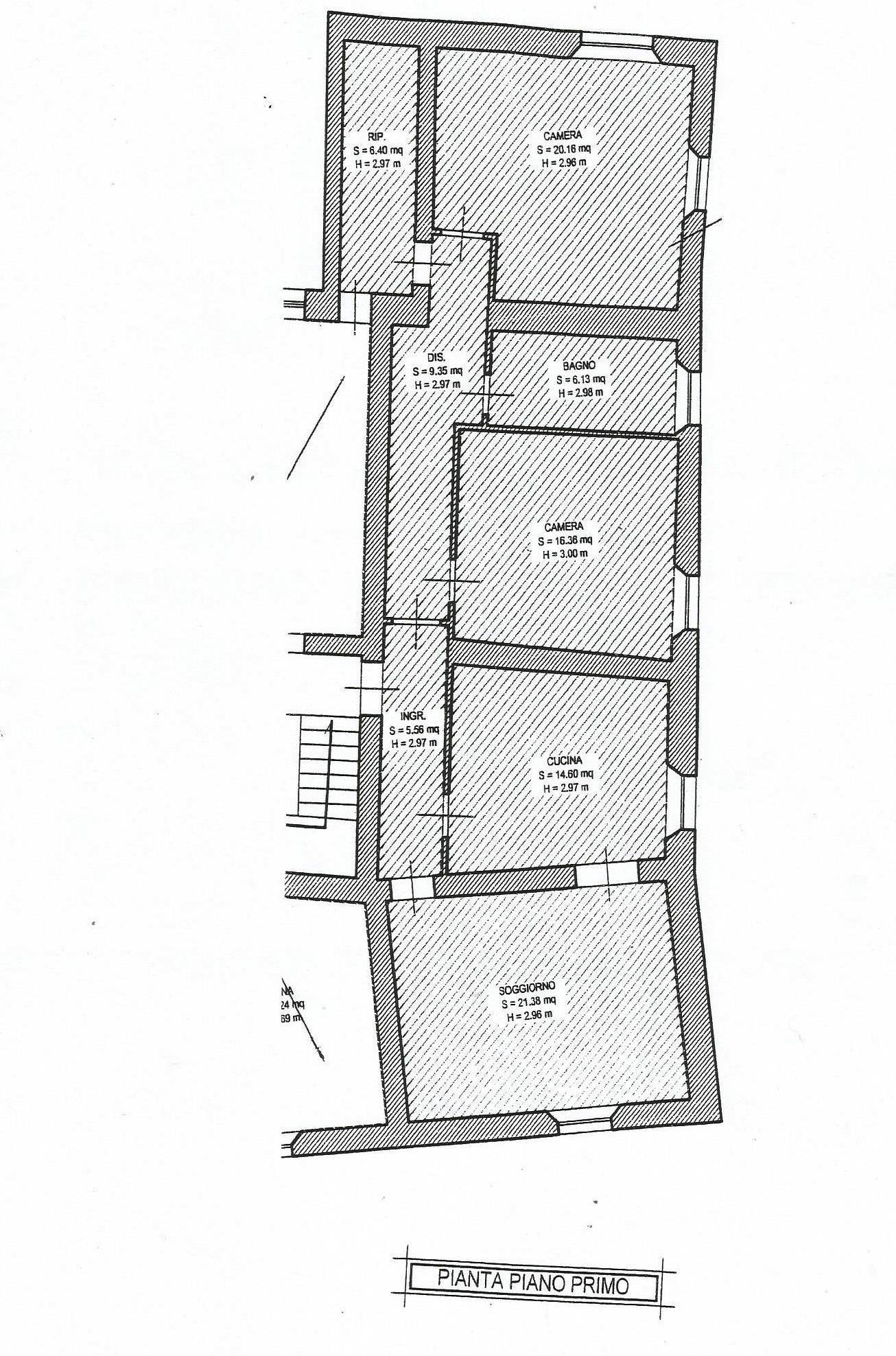 Planimetria 1/2 per rif. CA138