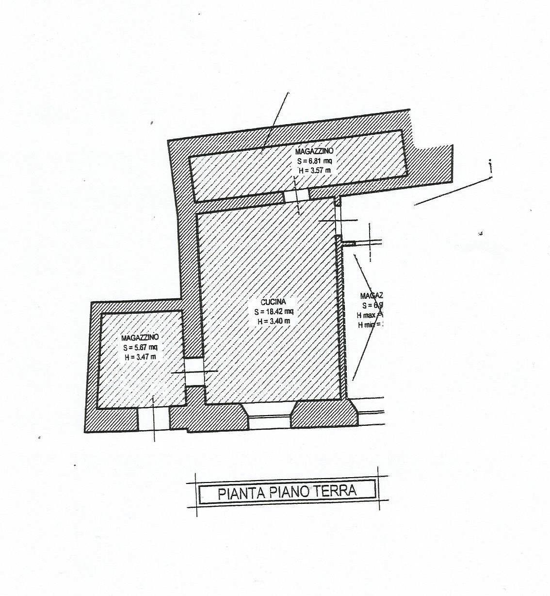 Planimetria 2/2 per rif. CA138