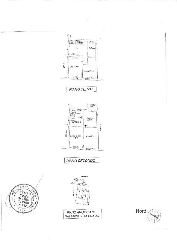 Planimetria 1/1 per rif. A093