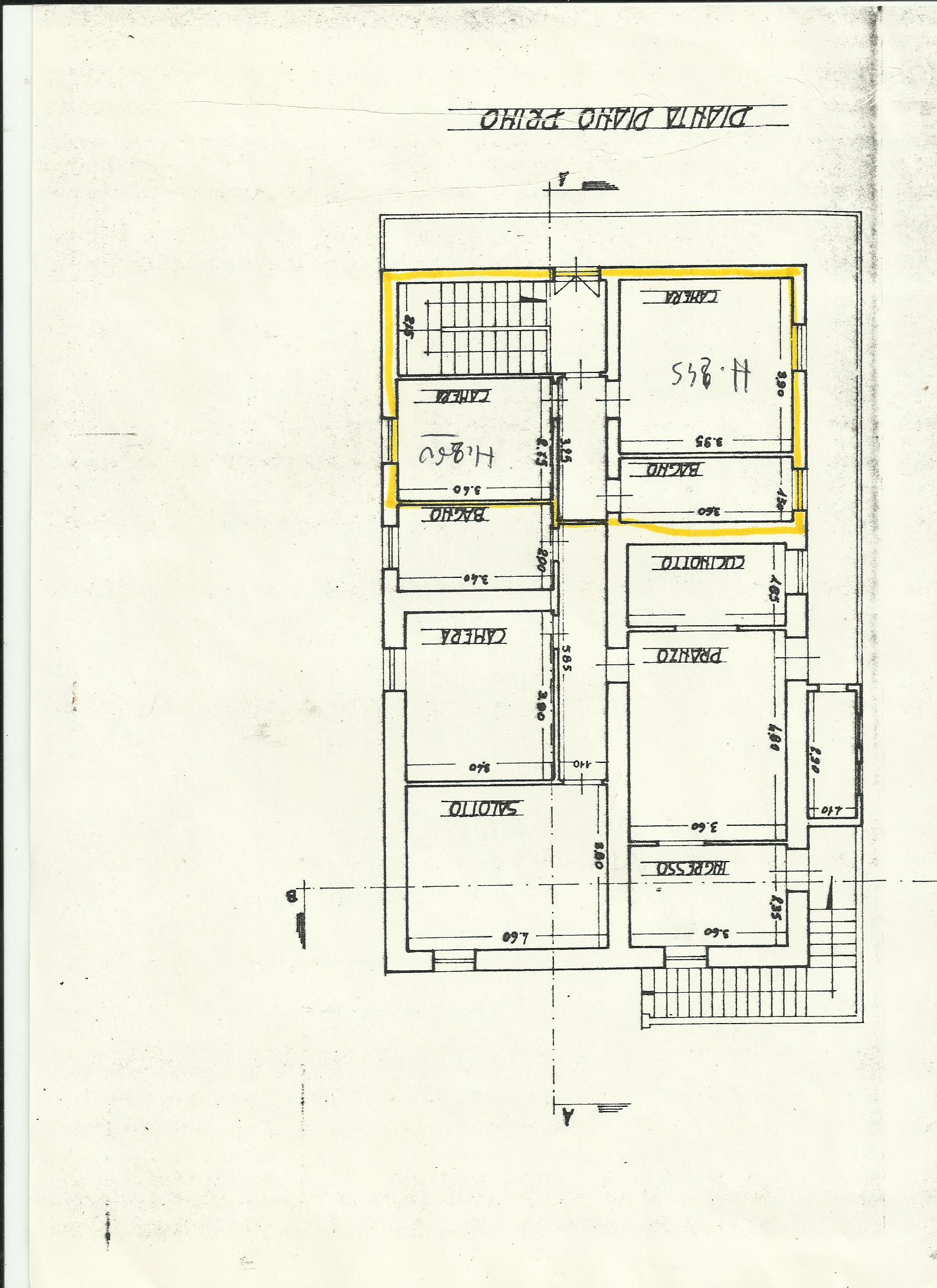 Planimetria 2/2 per rif. A447