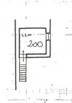 Planimetria 3/4 per rif. PA102