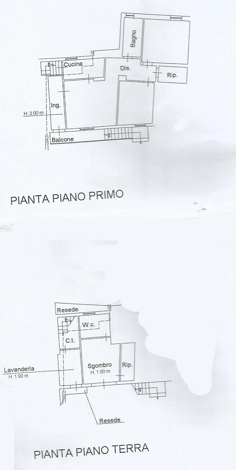 Planimetria 1/2 per rif. PA139