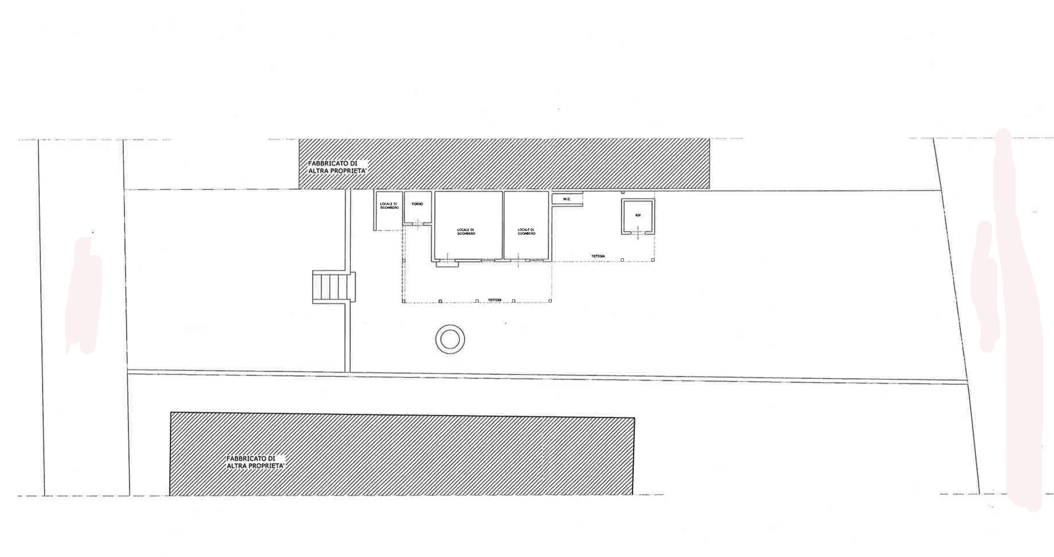 Planimetria 2/3 per rif. FO111B