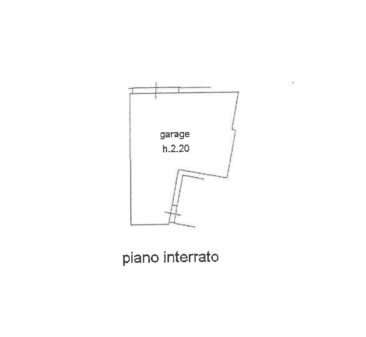 Planimetria 2/2 per rif. FO121