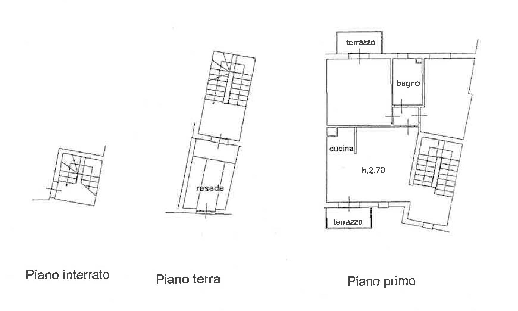Planimetria 1/2 per rif. FO121