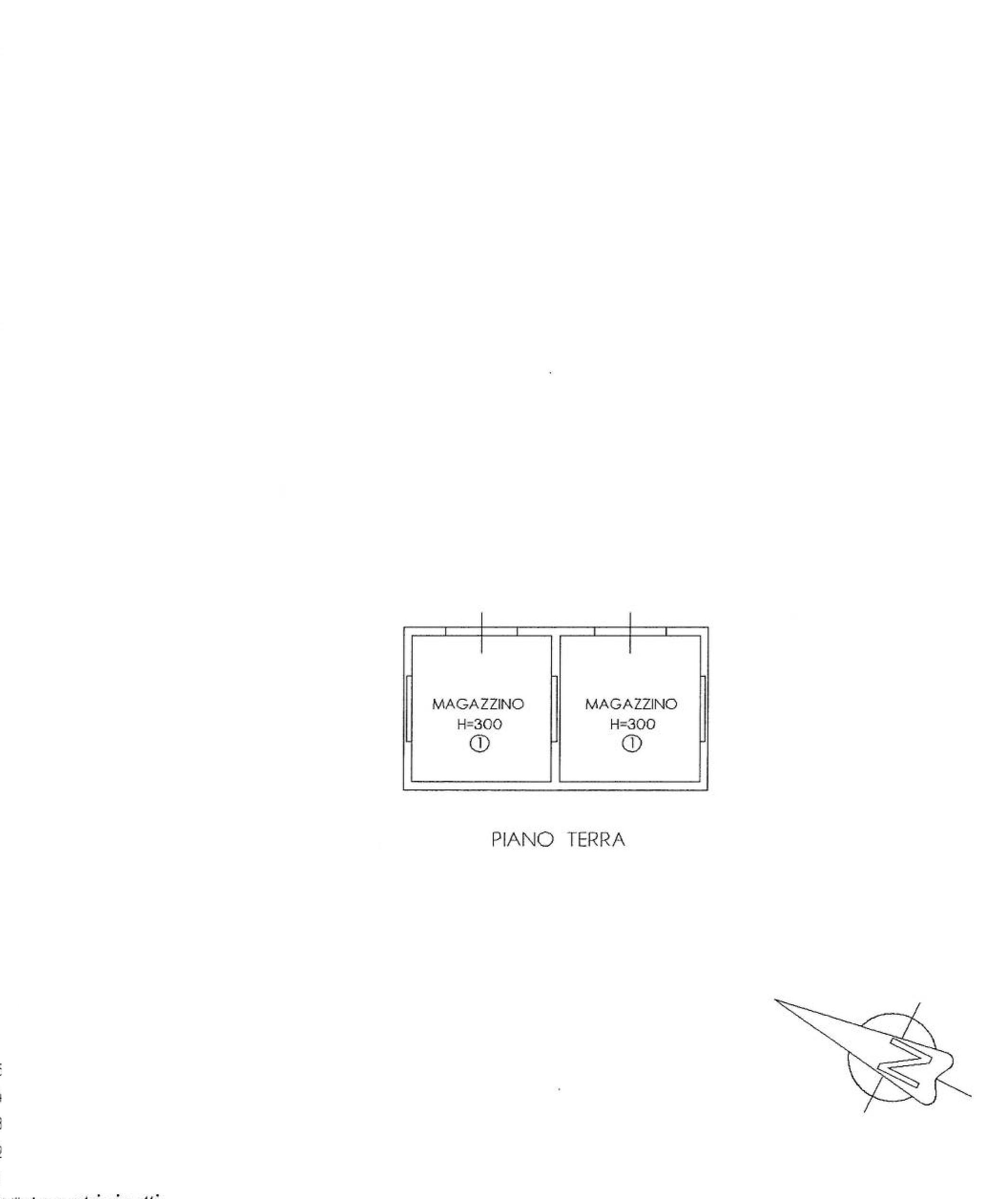 Planimetria 3/4 per rif. PISILB