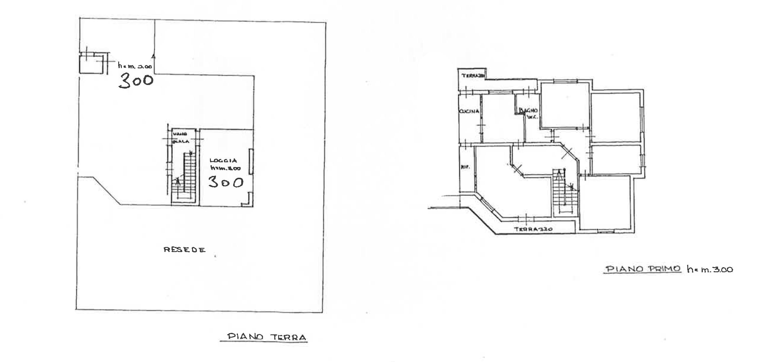 Planimetria 2/3 per rif. PO171
