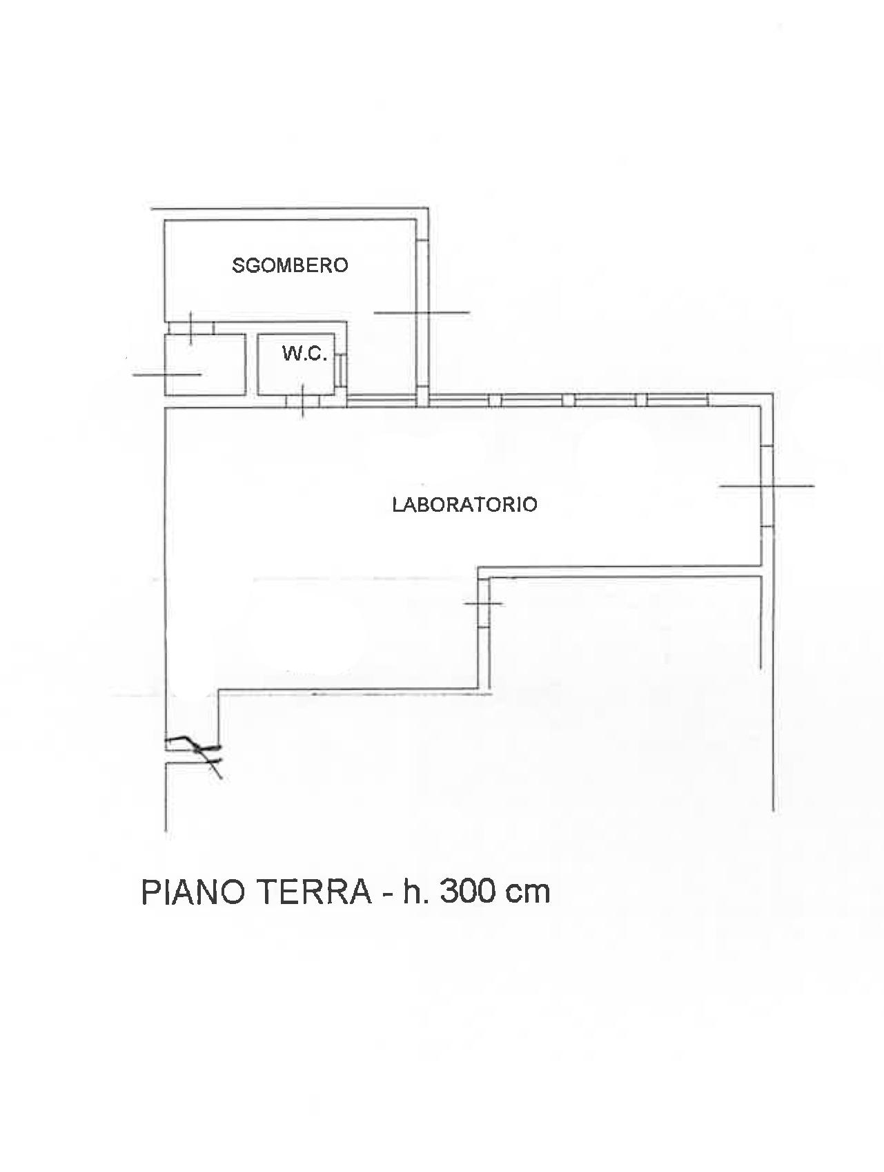 Planimetria 3/3 per rif. PO171