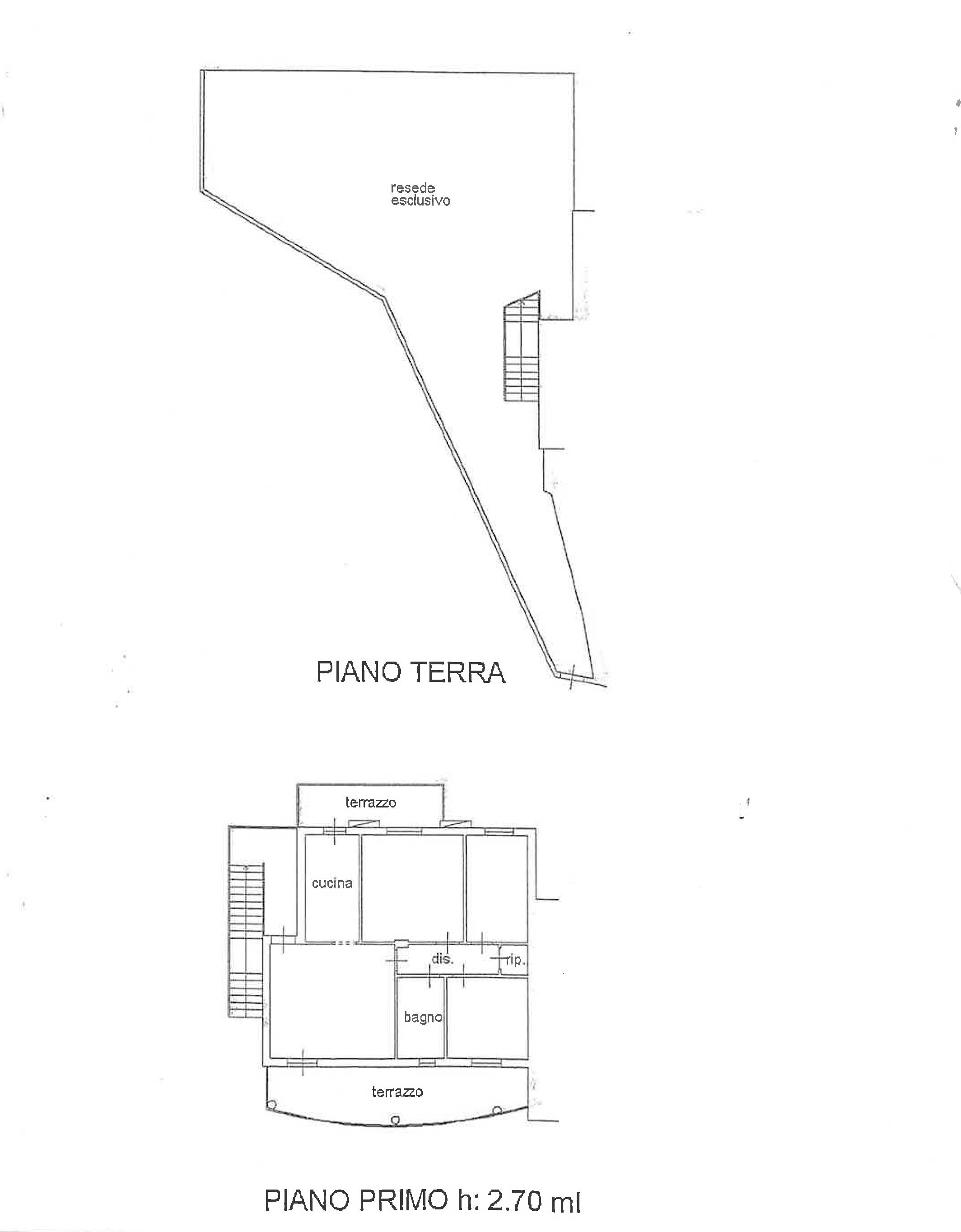 Planimetria 1/1 per rif. TE200
