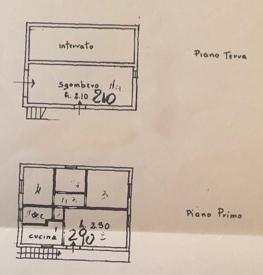 Planimetria 1/1 per rif. BL101