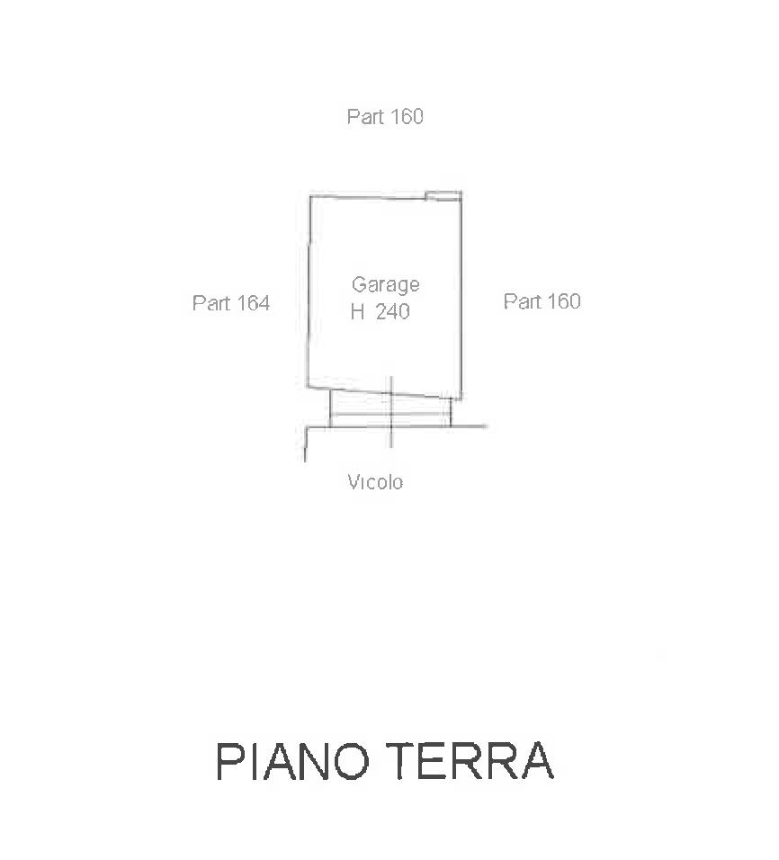 Planimetria 1/2 per rif. PA001