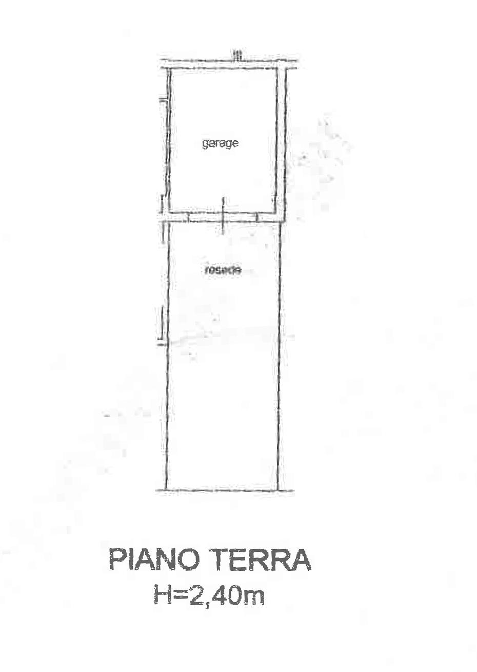 Planimetria 2/2 per rif. CA187