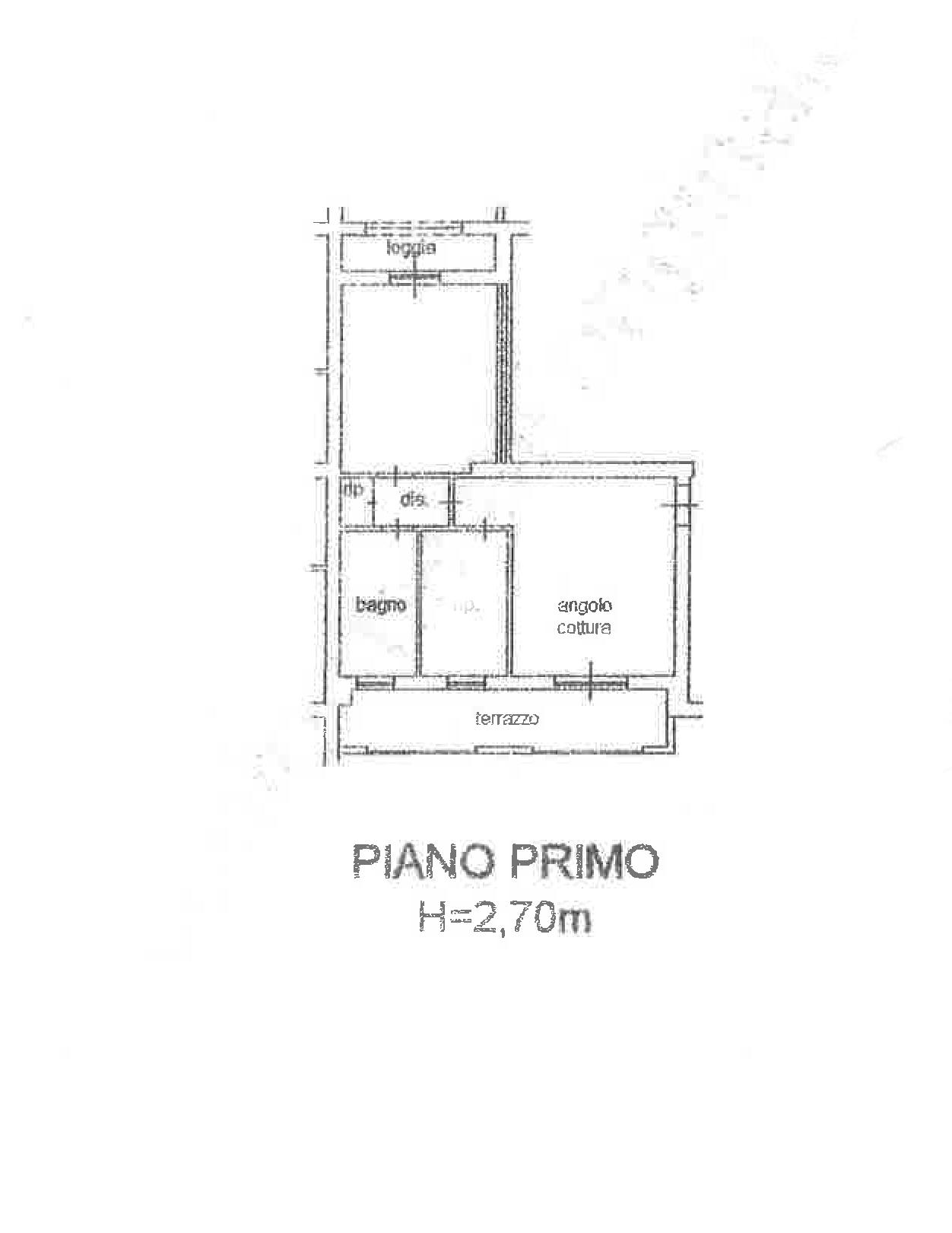 Planimetria 1/2 per rif. CA187