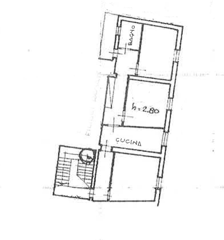 Planimetria 1/1 per rif. CA162