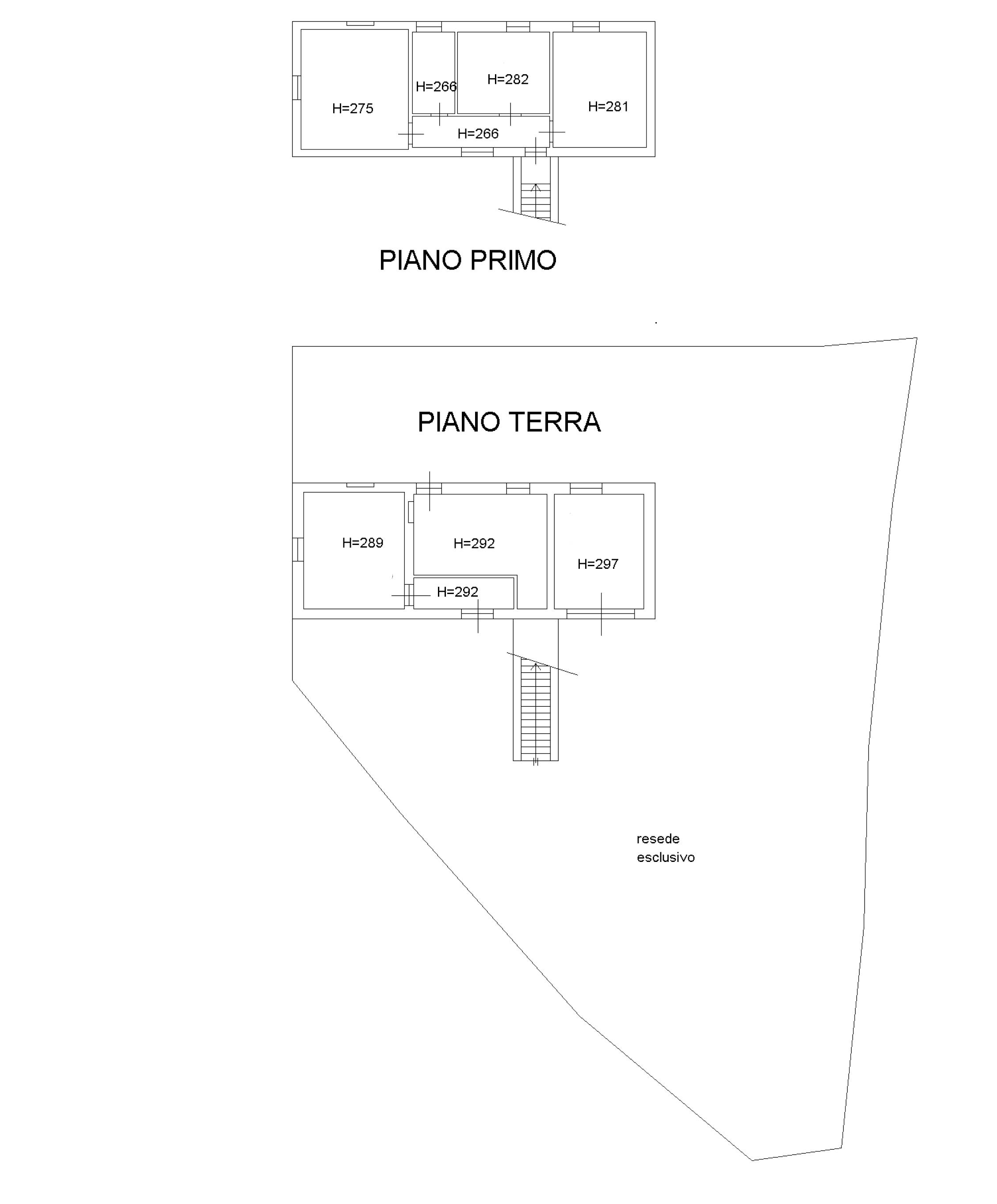 Planimetria 1/1 per rif. FA0118