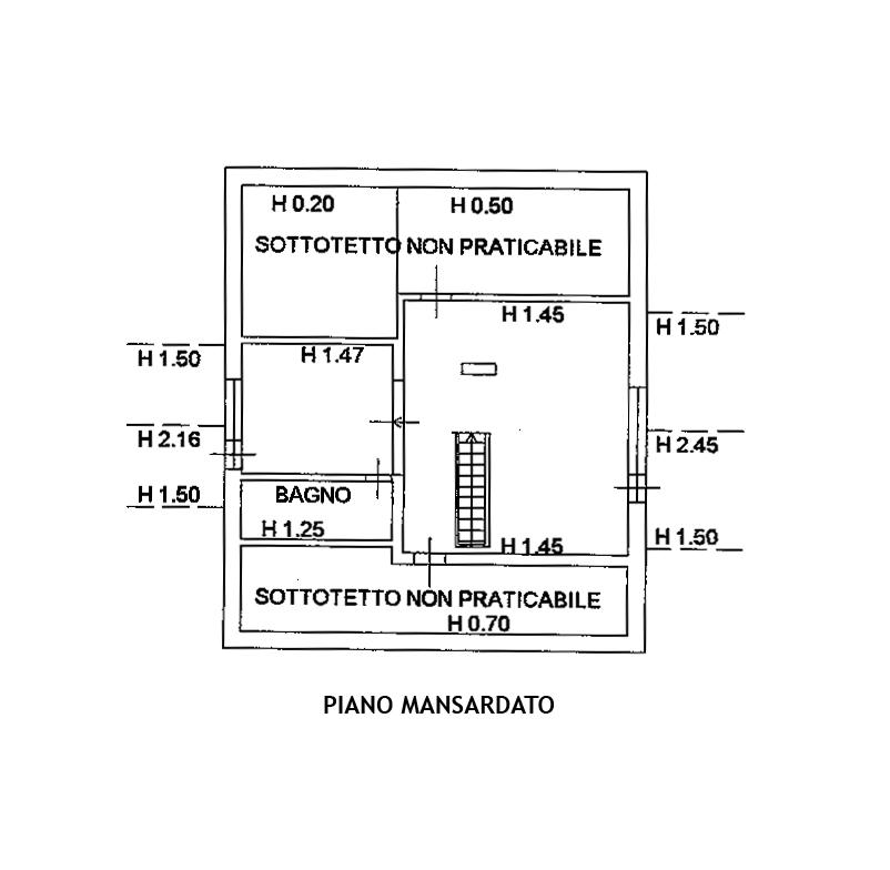 Planimetria 4/4 per rif. FO106